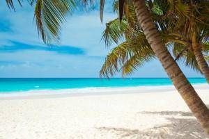 Jahresurlaub am Strand